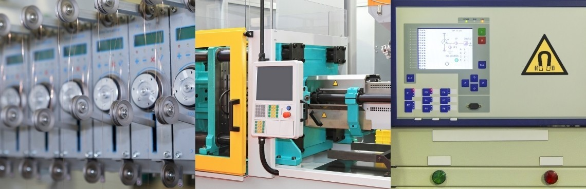 Luxalp controls the manufacturing processes specific for electromagnetism: Winding, Overmolding, Magnetization, ...